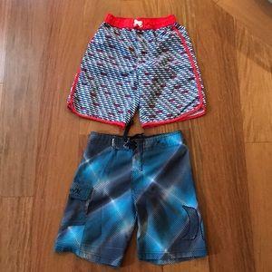 Swim shorts bundle, size 6.